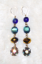 "VAMPYRA- Fancy Drop Earrings  -  2"" Gold lever backs  $78"