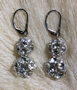 "PRINCESS - Double-beaded  - 1.25"" Sterling silver lever backs. $78"